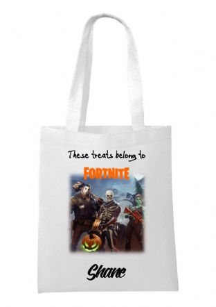 Halloween Fortnite Bag